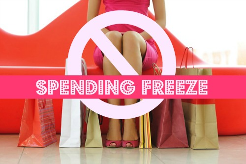 Spending Freeze can be helpfull if you are in debt