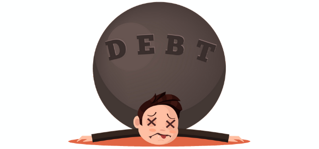 OVER-INDEBTEDNESS: Erase This Debt-Laden Meaning & Reality From Your Life